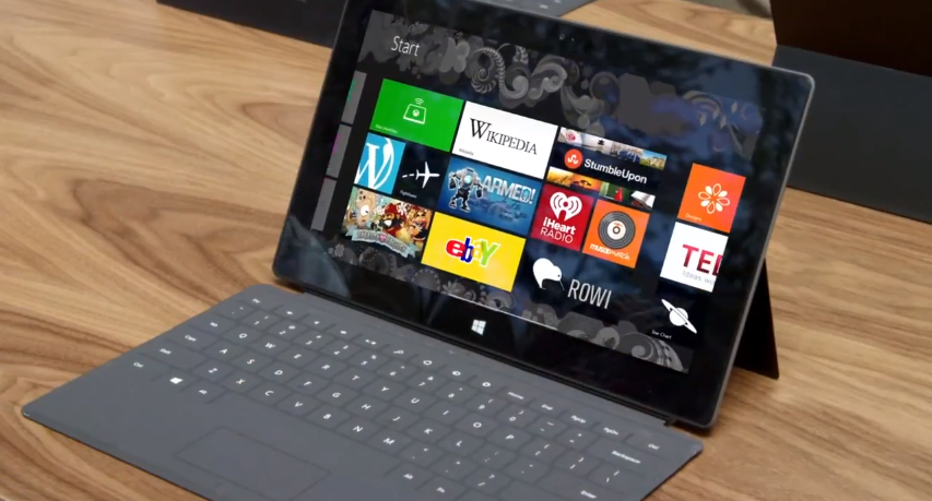 microsoft surface with windows 8 pro arrives in january. Black Bedroom Furniture Sets. Home Design Ideas