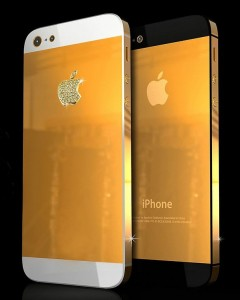 gold iphone5