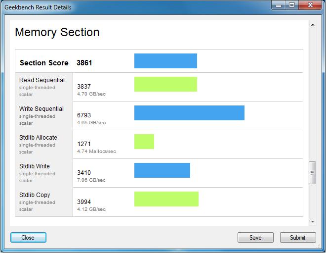 Geekbench 2 4 0 supports Windows 8, new Macs