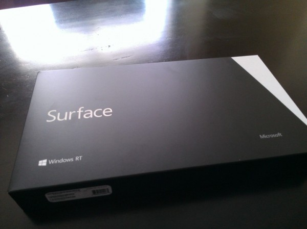 Surface RT box
