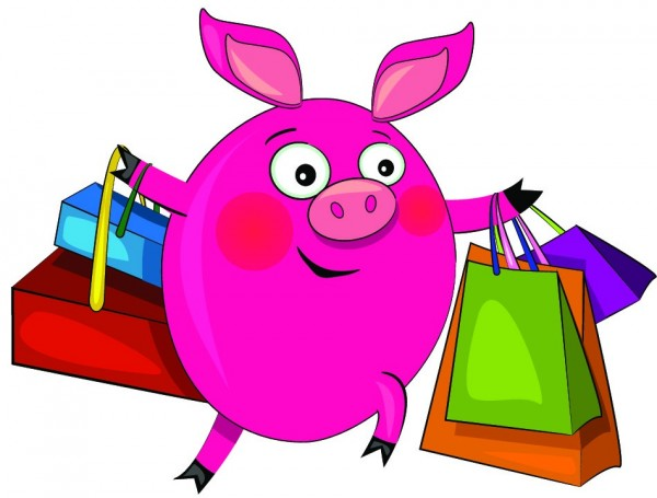pig shopping