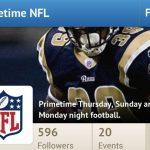 UpTo NFL Primetime profile