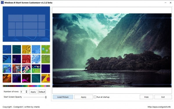 Windows 8 Start Screen Customizer review