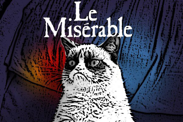 Grumpy Cat Le Miserable