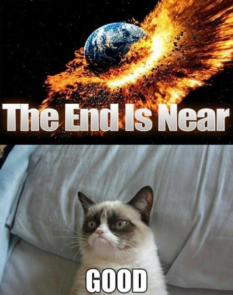 Grumpy End of the World