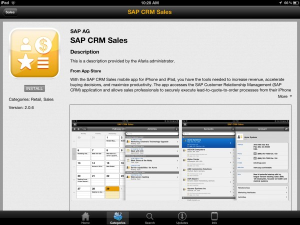 Sap Announces Major Update To Afaria Mobile Device Management