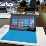 Surface RT in Microsoft Store