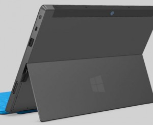 Surface back