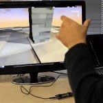 Leap Motion playing Block 54 app