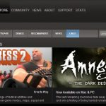 Steam for Linux store Valve