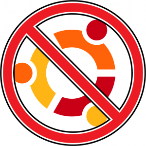 no to ubuntu
