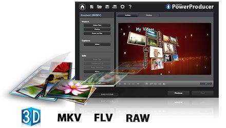 CyberLink PowerProducer 6 adds animated menu templates, widens file