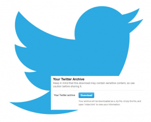 twitter logo archive