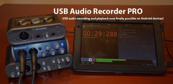 now you can record to your android device via usb audio. Black Bedroom Furniture Sets. Home Design Ideas
