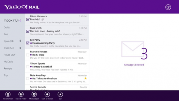 Yahoo overhauls its mail service, adds new mobile apps