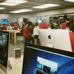 Apple Store Christmas