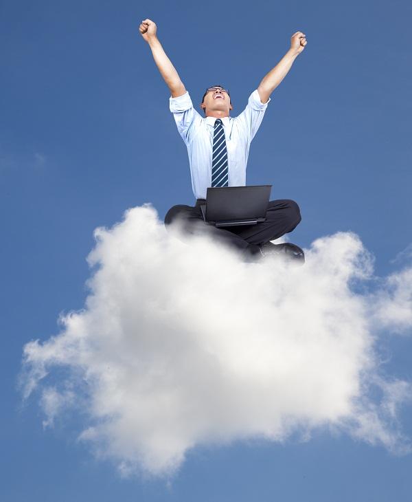 PC cloud laptop