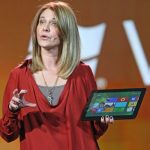 Tami Reller and Windows 8 slate