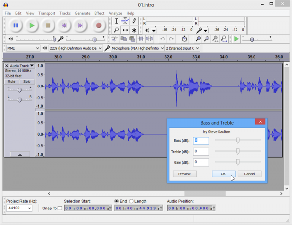 Audacity 2.0.3 offers faster resampling speeds and new effects