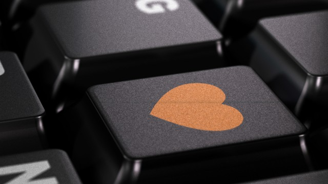 heart love keyboard