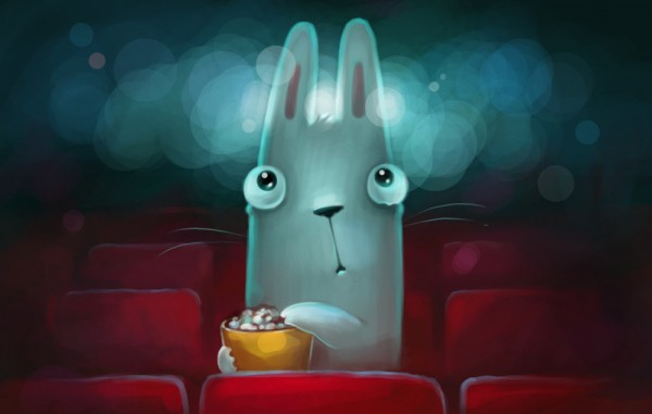 Popcorn movie time