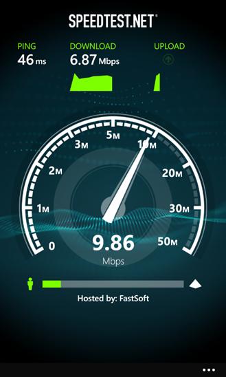 Speedtest.net app finally comes to Windows Phone
