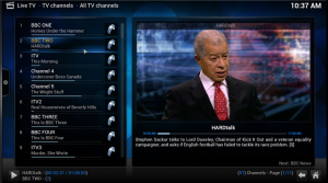 Get live TV and PVR working in XBMC