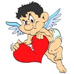 cupid broken heart
