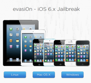 anticipated evasi0n hack for all Apple hardware running iOS6-iOS6.1
