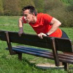 park bench runner