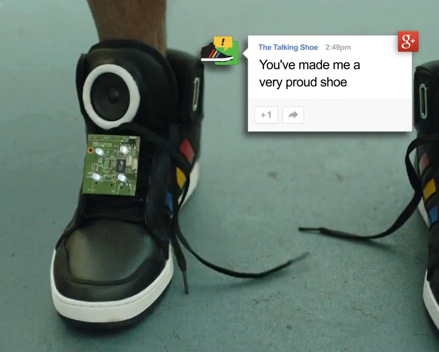 Real Time 911 >> Is there anything more annoying than a pair of talking shoes? Probably not