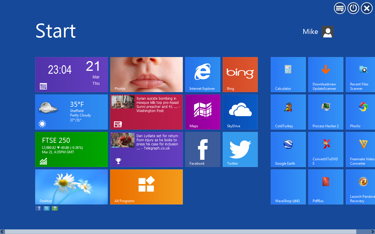 Makeover Windows 7 with Modern UI | BetaNews