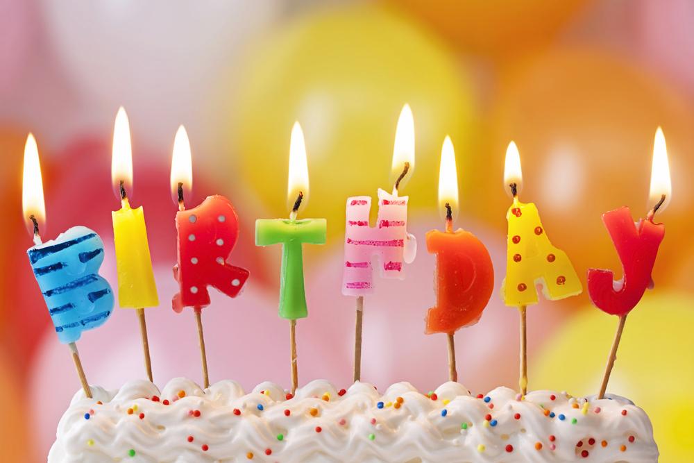 Картинки с днем рождения со свечами, поздравления для