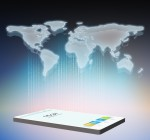 smartphone world map