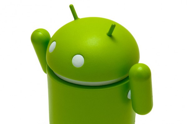 Android celebrating