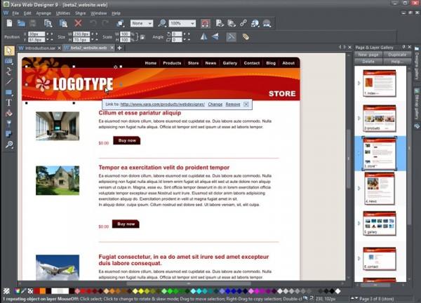 Build Retina Compatible Websites With Xara Web Designer 9 Premium Betanews