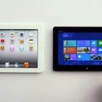 Apple iPad vs Windows 8