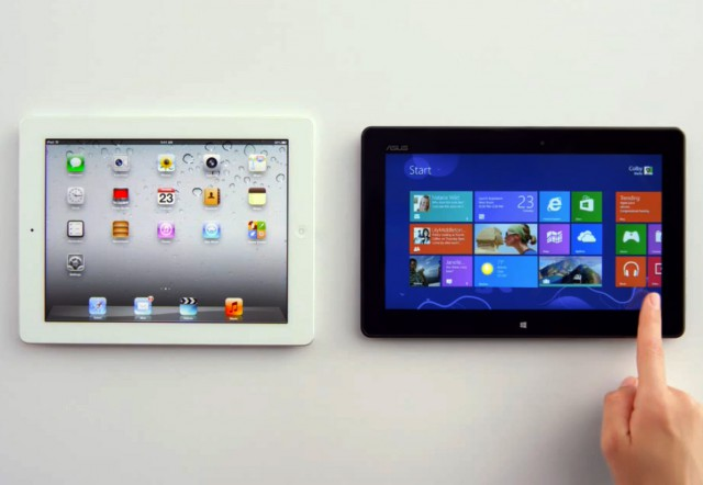 Apple iPad vs Windows 8