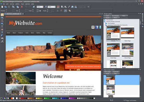 Xara Web Designer 9 Premium Review