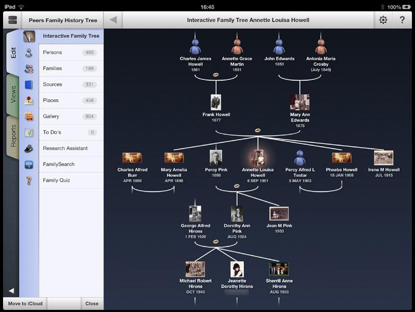 macfamilytree and mobilefamilytree bring family history