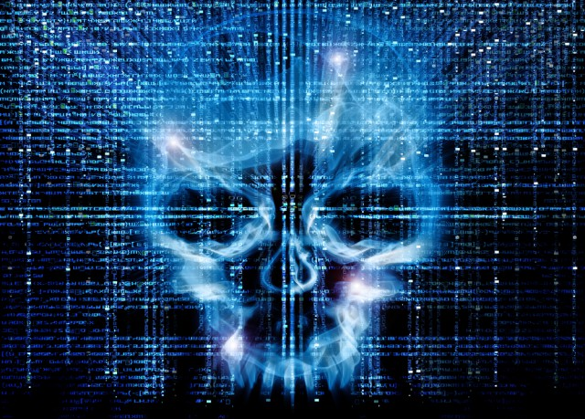 skull death security malware hack threat