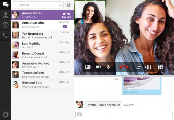 Uh-oh, Skype, Viber 3.0 goes desktop