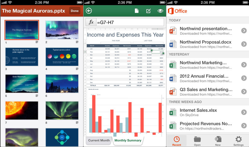 Hands On With Office Mobile For Office 365 Subscribers