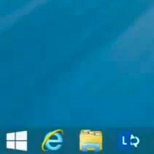 Microsoft Demos The New Windows 8 1 Start Button Is It