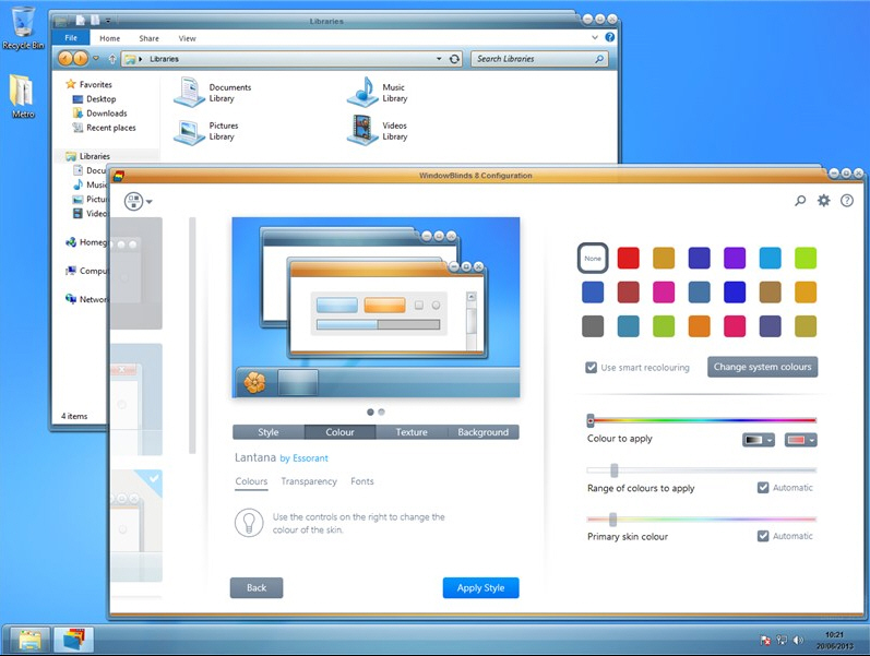 Windowblinds 8 Unveils Radical Redesign Adds Windows 8