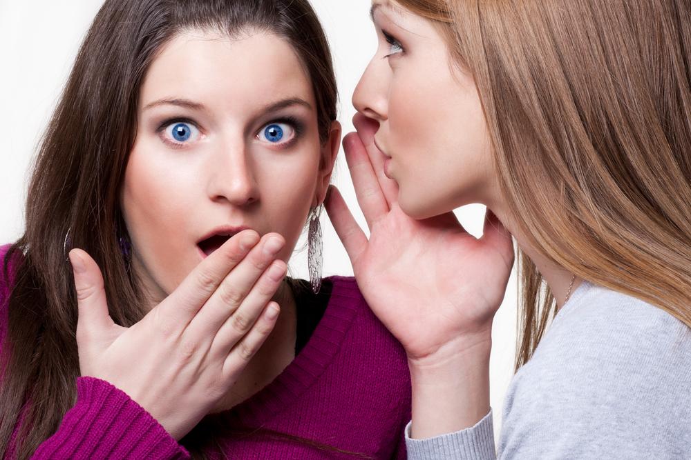cheating whispering shock