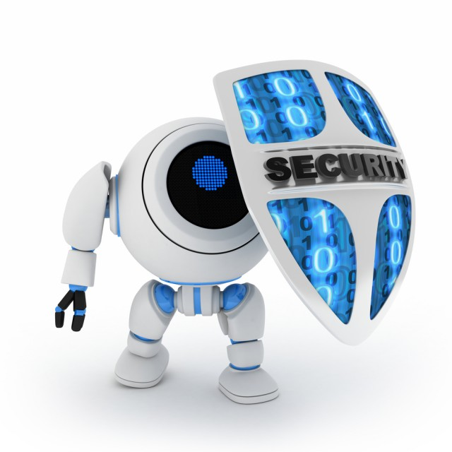 robot security shield