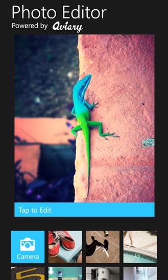 photo editor windows phone 8