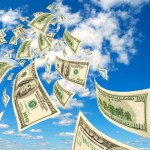 cloud money dollars