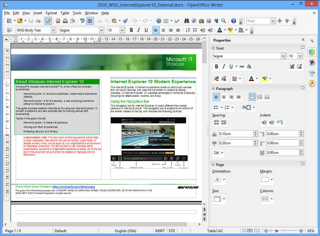 download is openoffice writer compatible with microsoft